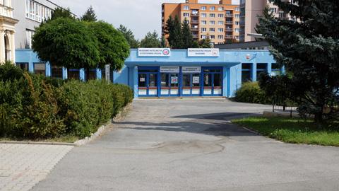 Mateřská škola plzeň Malý svět - vchod
